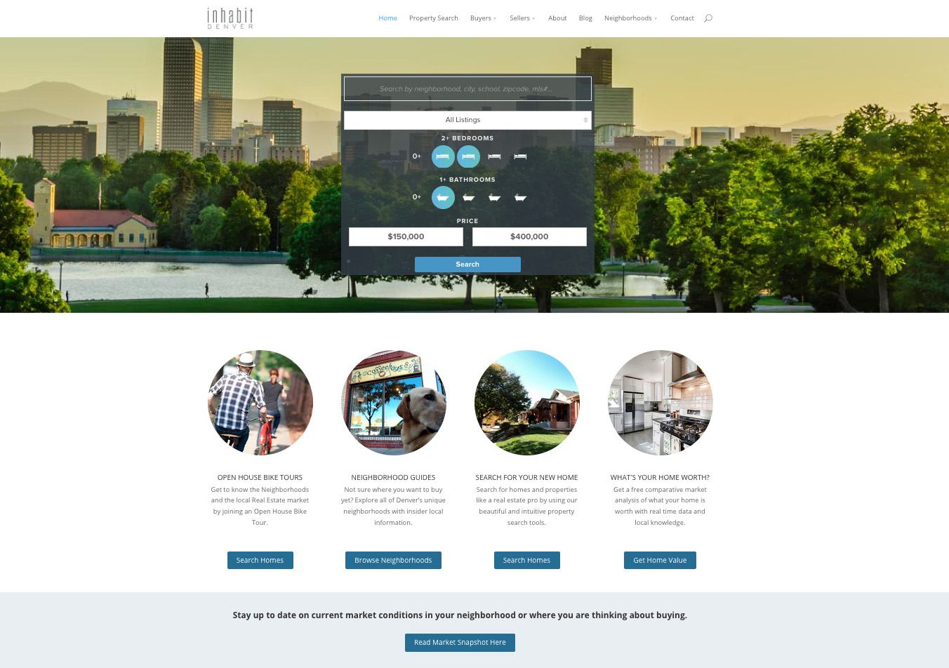 Denver-WordPress-Real-Estate-Website